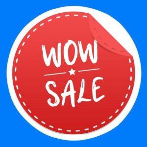 Wow Sale | Чёрная Пятница🔥