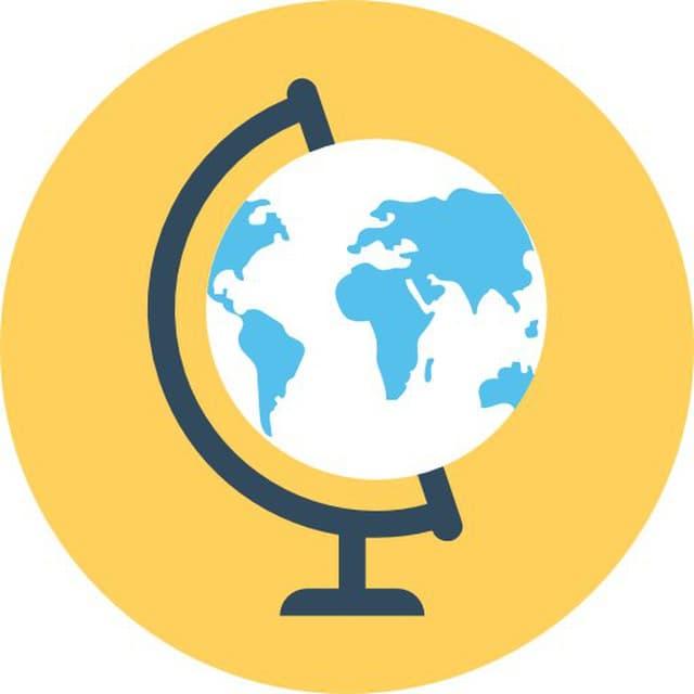 Телеграм канал — География в опросах