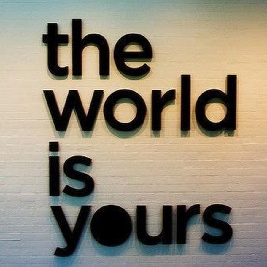 Телеграм канал — The World Is Yours