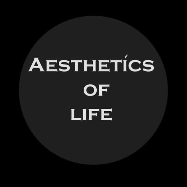 Телеграм канал — Aesthetics of life / Эстетика