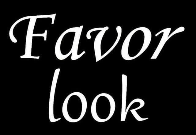 Favor look
